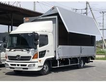 日野 ウイング車 4トン H28年 TKG-FD9JLAG