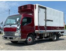 -12℃確認済み 平成16年式 三菱キャンター ワイド 冷凍車 菱重製低温仕様 スタンバイ付 格納ゲート付