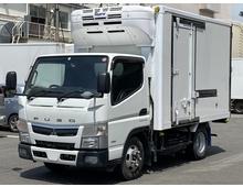 【お買い得】 H30年式 4WD キャンター 冷凍バン 東プレ低温設定 左サイドスライド扉 積載1400kg デュオニック