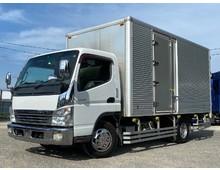H22年式 三菱ふそう キャンターバン ワイドロング 3t積載 サイド扉付 ターボ 150馬力 6MT 積載3t