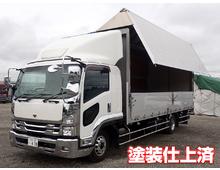 いすゞ ウイング車 4トン H27年 TKG-FRR90T2