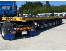 H17 3軸まな板 36t車 積載28.4㎏ リフトアクスル付き