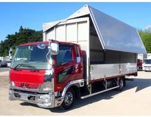 三菱ふそう ウイング車 4トン H28年 TKG-FK64F
