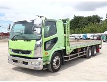 増トン 2デフ ファイター アルミブロック平ボデー L6300 積載12400kg 6速MT
