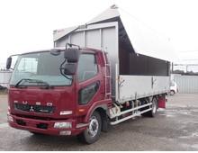 【お買い得】増トン ファイター アルミウイング リーフサス ワイドL6200 積載7300kg 6MT