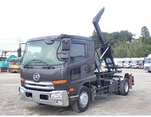 増トン コンドル 新明和製アームロール ツインホイスト 積載7400kg 6速MT