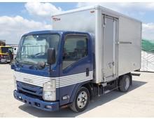 【車検付き】 いすゞエルフ アルミバン 標準内長370㎝ H27年 走行距離189千㎞ 積載2000㎏ シフト5速MT
