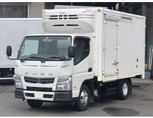 H26年 キャンター 4WD 冷凍バン 菱重低温 標準ショート 267千㎞ 積載1650㎏ デュオニック