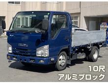 いすゞエルフ アルミブロック平ボデー 車両総重量5t未満 標準10尺 H27年 165千㎞ 積載2000㎏ シフト5速