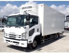 いすゞ 冷蔵冷凍車 4トン H27年 TKG-FRR90T2