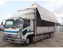 【車検付き】 増トン フォワード アルミウイング ワイドL6700 リアエアサス 積載6400kg