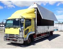 フォワード アルミウイング ワイドL6240 リアエアサス 積載2700kg 6MT