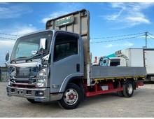 2t いすゞエルフ ワイド 4WDアルミブロック 床アルミ縞板 ターボ150馬力 5速マニュアル 積載3000㎏