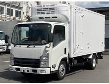 H25年 いすゞエルフ 冷凍バン 東プレ 標準ロング 走行距離277千㎞ 積載3000㎏ スムーサー