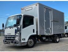 平成23年式 いすゞエルフ 標準幅ロング アルミバン パワーゲート 荷台高216㎝ 150馬力 6MT 積載2.0t