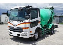 低走行★ H28年 UDコンドル 増tミキサー車 積載5020㎏ カヤバ製4.4立米