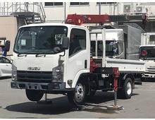 H22 いすゞエルフ タダノ3段クレーン ラジコン付き