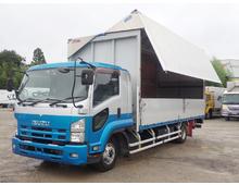 いすゞ ウイング車 4トン H26年 TKG-FRR90S2