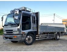 8.3t積載 増トン 平アルミブロック セミワイド 造りボデー ターボ240馬力 直6エンジン MT6速 実走行38万キロ
