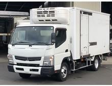 H28年 キャンター 冷凍バン 東プレ中温設定 格納パワーゲート 左サイド扉 積載3400kg