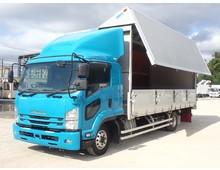 車検R4年6月28日迄 フォワード アルミウイング リアエアサス アルミホイール 積載2850kg 6速MT