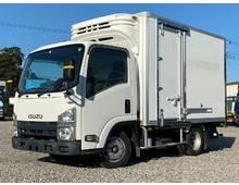エルフ 冷凍車 5t未満 10尺ボデー -15℃確認済み 東プレ低温 左右サイド扉 積載1.8t 150馬力
