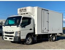 -28℃確認 2tワイド 東プレ 冷蔵冷凍車 低温 左サイド扉 三菱キャンター ターボ150馬力 5MT 積載3t