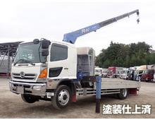 レンジャー 増トン タダノ製4段クレーン ZR504 アルミブロックL6410 2.93t吊 ラジコン フックイン メッキパーツ 6MT 積載6.8t