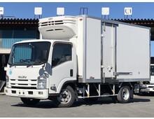 H25年 いすゞエルフ 格納パワーゲート付冷凍バン 菱重低温 ワイド幅L421㎝ 左側サイド扉 走行距離202千㎞ 積載3000㎏ シフト6速MT